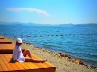 Пляж. База отдыха «Весёлый Роджер»